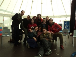 Curso de Segurança e pedagogia do Circo - La central del circ - Barcelona dez., 2010