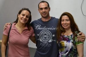 Luisa Parente (ex-ginasta) e Andrea João (UERJ; FIG ACADEMY; Pres. Federação Carioca de Ginástica), agosto, 2014