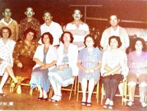Reunião dos imãos da Família Coelho e algumas cunhadas.