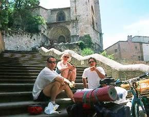 Caminho Santiago de Compostela, 2001