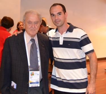 Professor Bruno Grandi (Presidente FIG), 2015