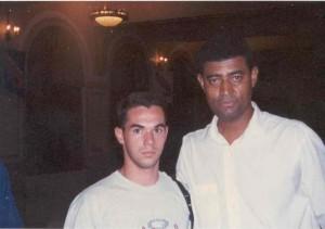 Marco e Dr. Antonio Carlos Gomes - Enaf 1997