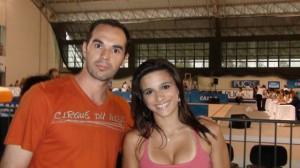 Marco e Jade Barbosa - POA - 2009