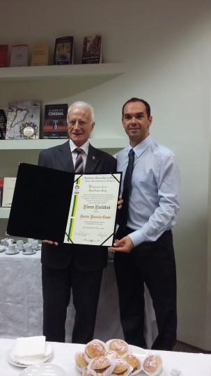 Entrega Dr. Honoris causa para Pierre Parlebas, outubro, 2015 UNICAMP
