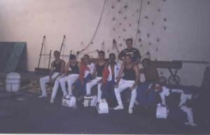 Equipe de Americana -SP nos Jogos Regionais em Campinas-SP, 1998