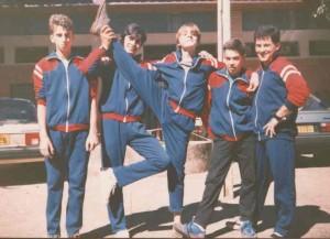 Equipe de Americana nos Jogos Regionais de Itatiba-SP, 1989