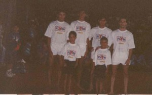 Equipe de Americana nos Jogos Regionais de Mogi Mirin-SP, 1997