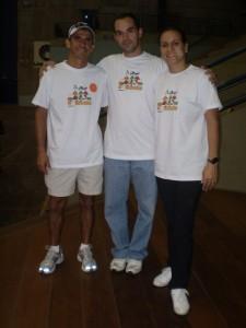 Marco, Luisa Parente e Vanderlei Cordeiro - UNICAMP 2006