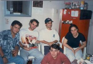 República Pocilga 1998 - Turma 1 - Piracicaba - SP