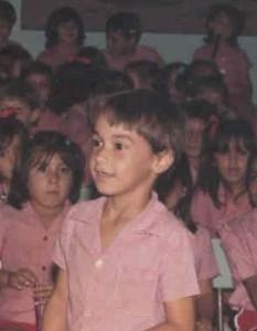 Marco, na pré-escola...