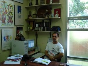 Sala de trabalho na FEF-UNICAMP, 2007