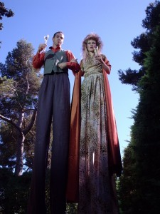 Marco e Ercilia - gravação do comential da Cava Freixenet - 2002