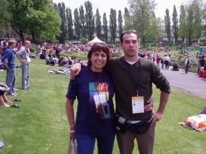 Marta Frias (Argentina) no Turnfest 2005 - Berlin