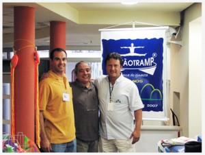 Marco, Rubens Martins (Matao) e Sergio Bastos - RJ 2007