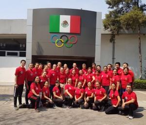 Participantes FIG Adacemy - México, fev. 2018 - Sede do Comitê Olímpico