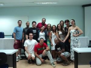 Grupo Circus após palestra Rodrigo Matheus - FEF, 2012