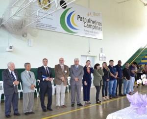Homenagem nos Patrulheiros de Campinas, out. 2014