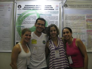 Congresso Pibic UNICAMP, 2010 - Isabela, Daniela e Flora