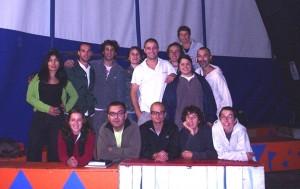 Jornadas de Formação Circense - Escola Rogelio Rivel - Barcelona - Espanha, 2005