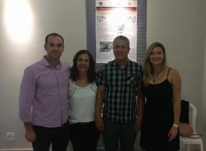 Seminário Internacional de Arte - PUC - MG, Belo Horizonte, 2017 (Marco, Margaret-Margo, Marcus Vinicius e Camila)