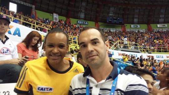Rebeca Andrade - Copa do Mundo de GA - Sao Paulo, maio de 2015