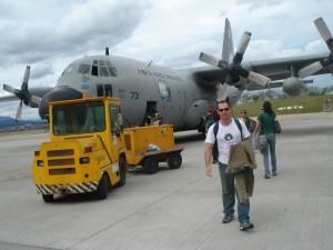 Entrando no Hercules - FAB