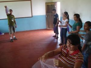 Projeto Rondon - Borba - AM - Oficina de malabares para professores