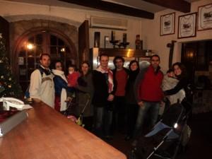 Com os amigos em Sant Just Desvern - Espanha - 2010