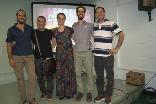 III Seminário Internacional de Circo - IEL - Unicamp 2016: Daniel Lopes, Edivaldo Góis, Rita Fernandes, Vinicius Terra - grande debate sobre história.