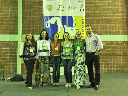 SIGARC 2015 - USP: Andrea João, Licca, Myrian, Laurita e Michele