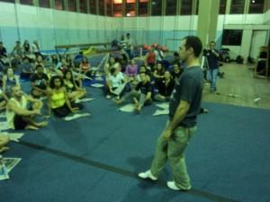 Oficina - Pedagogia das atividades circenses, UFES-Vitória-ES, agosto 2014