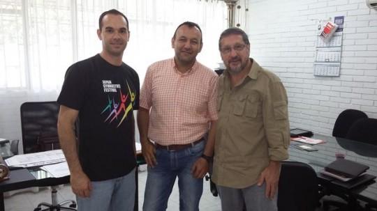 Universidad de los Llanos- Colômbia (Pró-reitor-Decano/Prof. Lino Castelani)