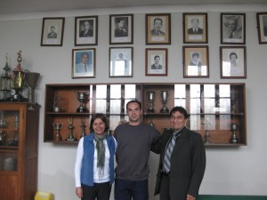 Univ. Nacional Mayor San Marcos - Lima Perú - Profa. Coca Cadillo e o diretor Sr. Polo Mayorca