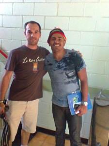 Visita do amigo Wellington LIma (Soleil), dez 2013 - UNICAMP